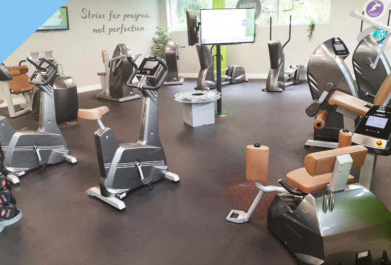 Medfit's Exercise bike area
